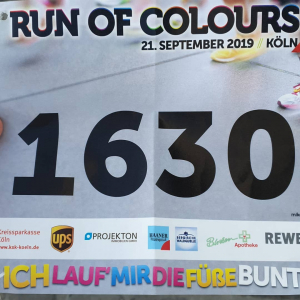 Run of Colours Startnummer